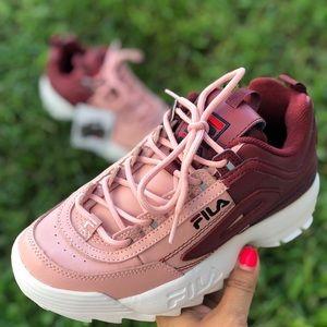 FILA Disruptor II Premium Sneaker Shoes 6.5